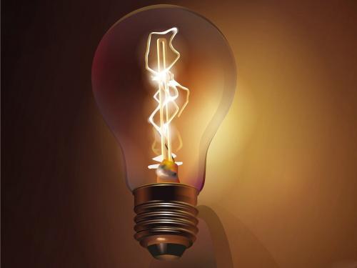 100 Watt Lampe