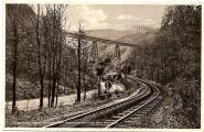 Größte Eisenbahnbrücke im Harz, ca. 1928. Verlag Julius Simonsen, Oldenburg Holstein, AK-Nr. 44588.jpg