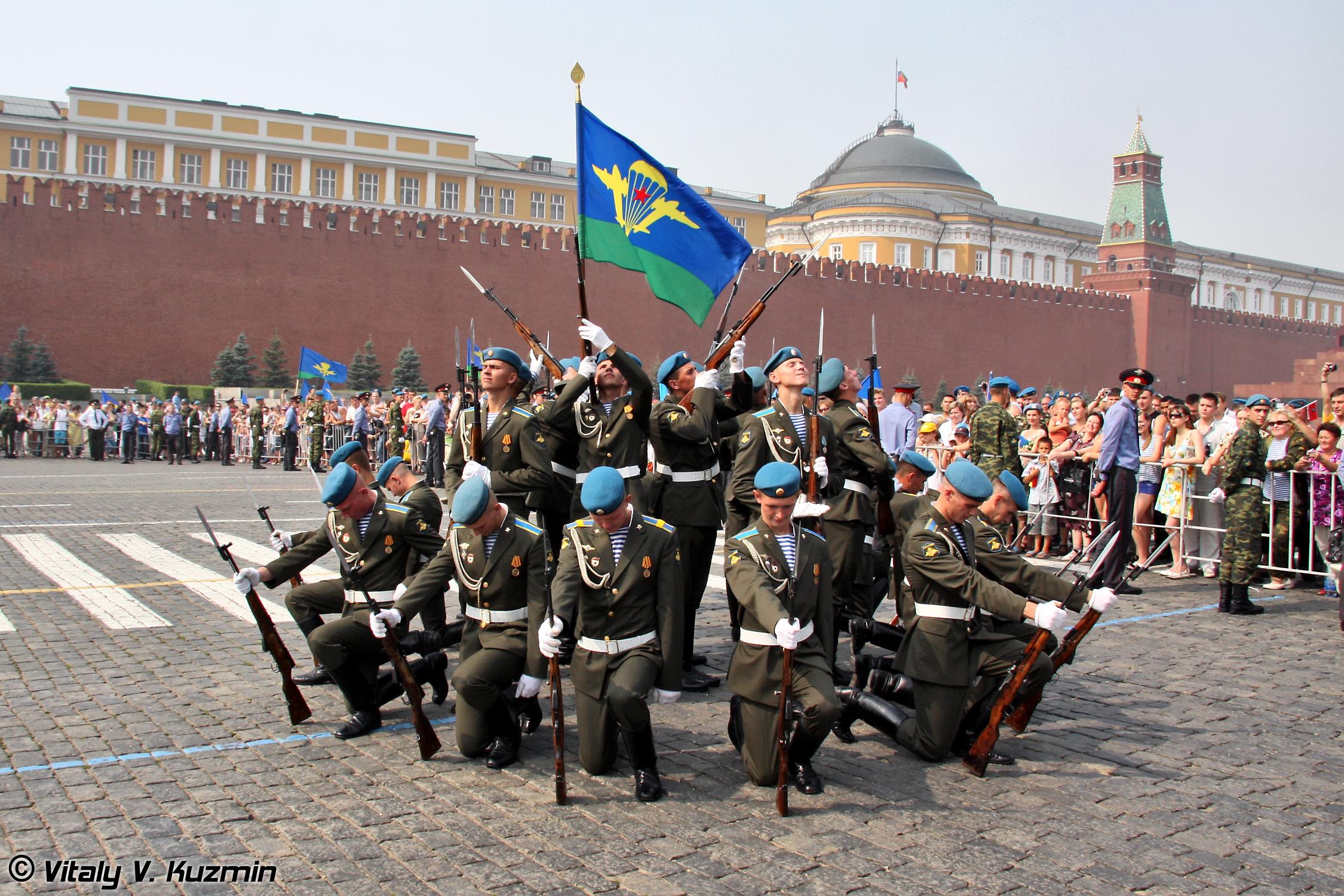 В Москве 2 августа 2011г. прошел самый трезвый день ВДВ - именно так