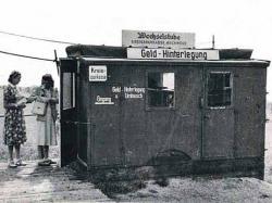 Bild 1 - Wechselstube am Grenz�bergang Herleshausen  [1950]; H. K. Gliem.jpg