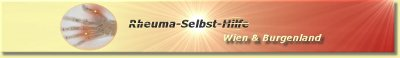 Rheuma-Selbst-Hilfe.at Logo/Banner, Größe: 400x58 px