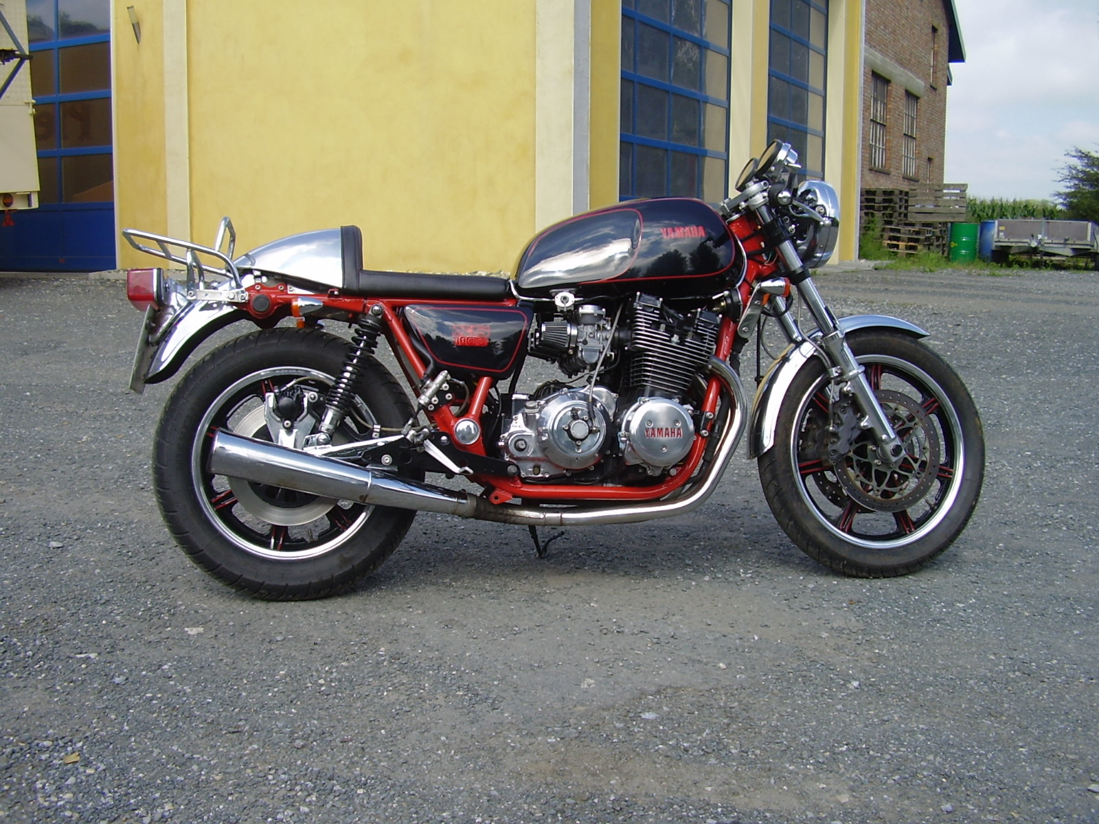 1000+ Images About XS11 Café Racer / Bobber On Pinterest