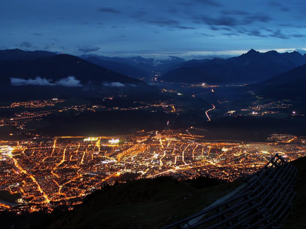 16.10.2014 - Abendstimmung @ Innsbruck (T)