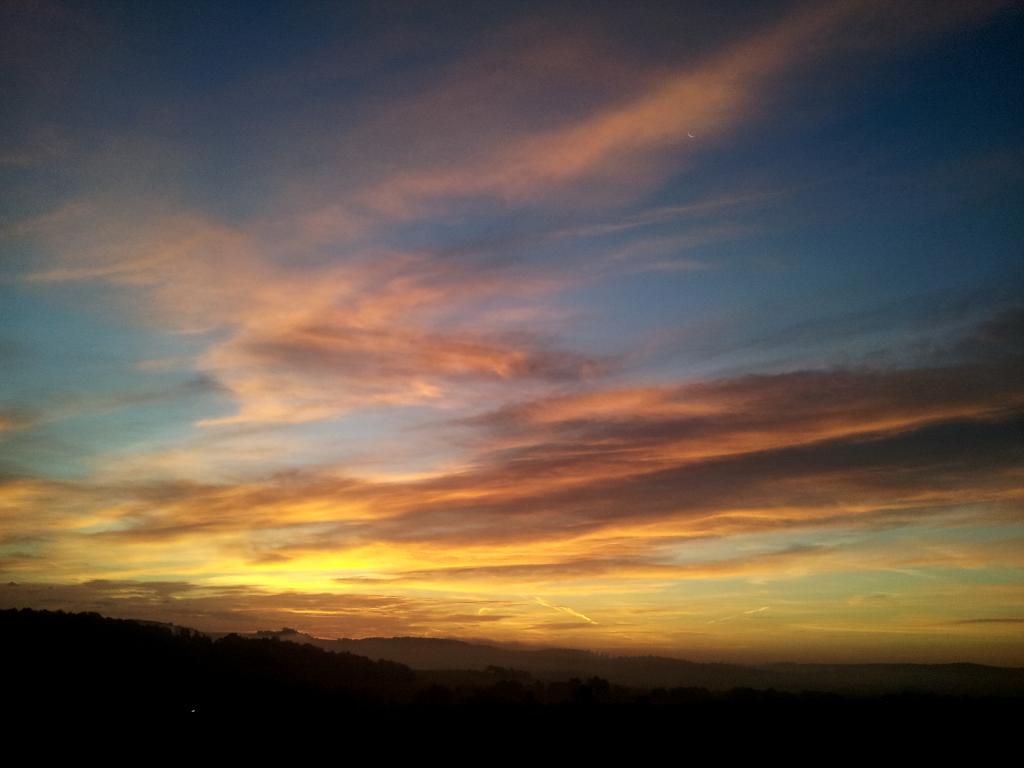 20.10.2014 - Wunderschöner Sonnenaufgang @ Hartberg (STMK)