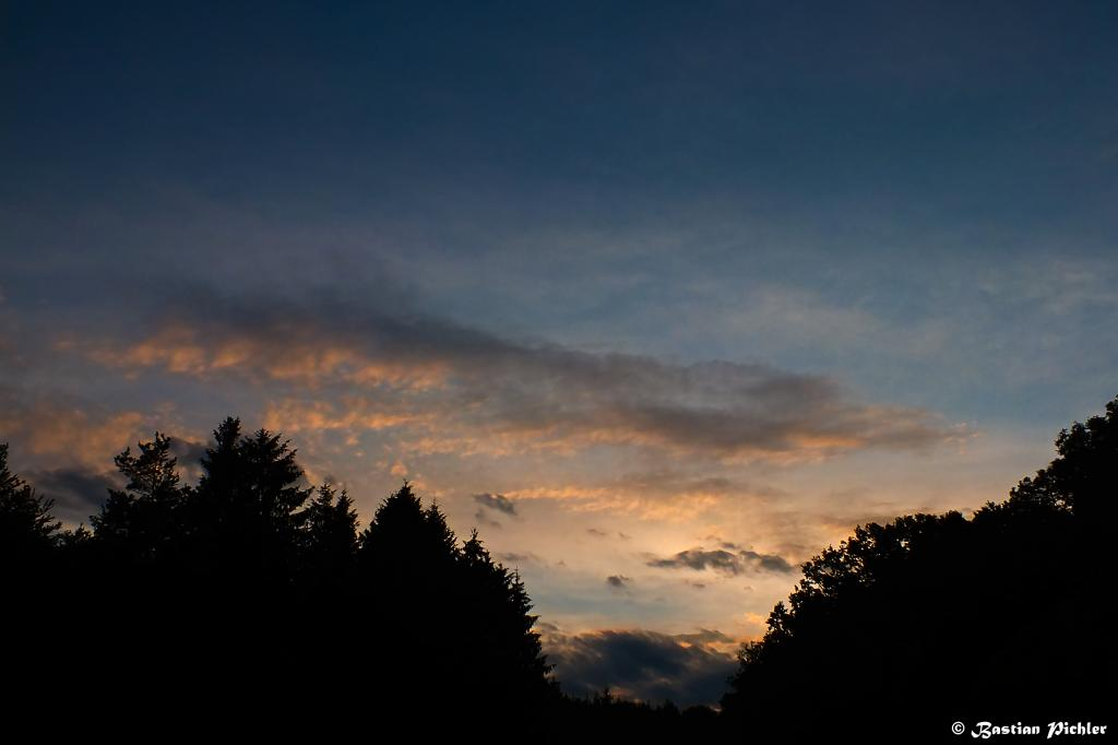 27.06.2015 - Farbvoller Sunset @ St. Andrä im Sausal (STMK)