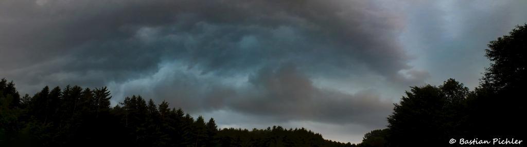 25.06.2017 - Heftige Gewitterfront (Panorama) @ Gleinstätten (STMK)