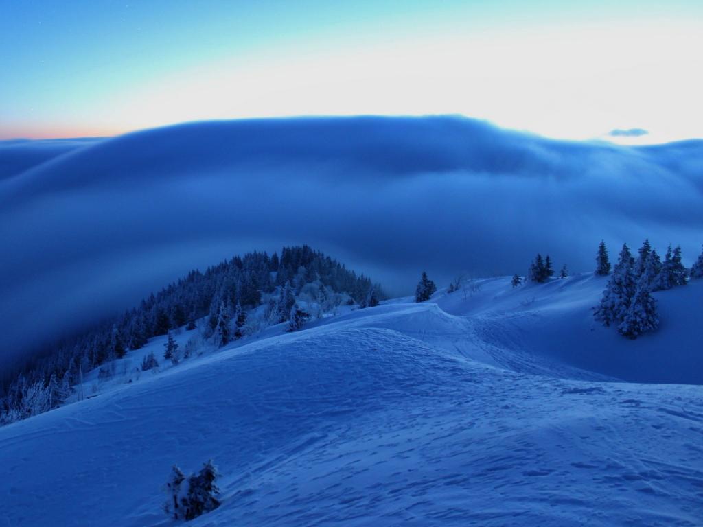 26.02.2018 - Arktischer Morgen + Nebel @ Hochries, Bayern (DE)