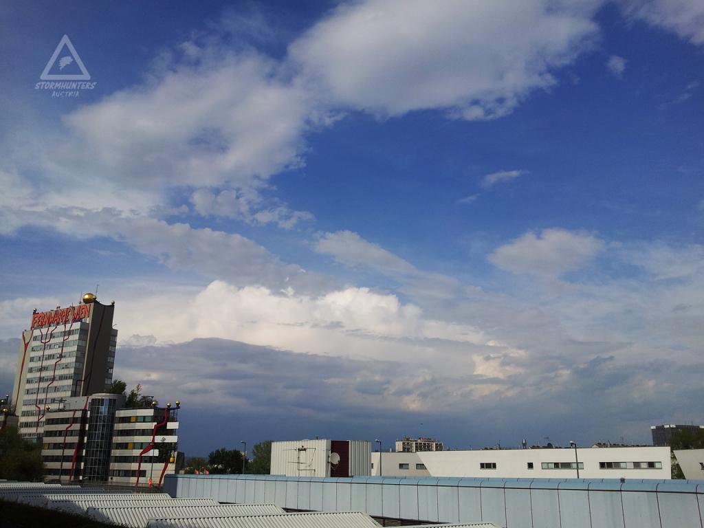 08.04.2014 - Gewitter nördlich von Wien