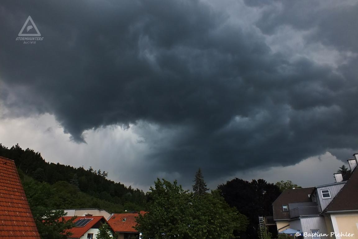 02.06.2017 - Heftige Gewitterzelle @ Kleinstübing (STMK)