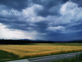 Gewitter 27.06.2020, A2 Raststation Loipersdorf Blickrichtung NW