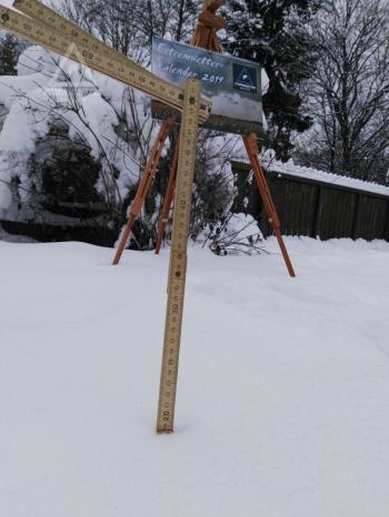 16.12.2018 - 20 cm Neuschnee + Extremwetterkalender @ Altenmarkt/Tr. (NÖ)