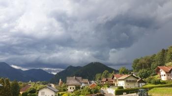 Wallcloud im Liesingtal Böickrichtung Kalwang von Mautern aus - 22.08.2020