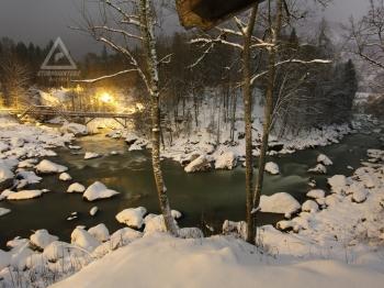 02.01.2019 - Winterlandschaft @ Saalach, Teufelssteg, Lofer Gebiet (SBG)