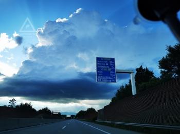 11.06.2020, Gewitter über Salzburg