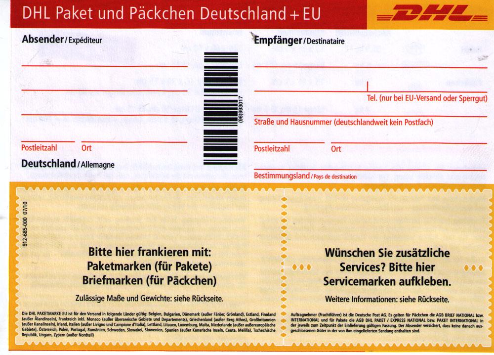 Dhl Päckchen International Tracking