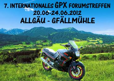 GPX Treffen 2012 Allgäu