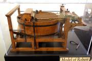 Robert_Paper_Machine,_model,_invented_by_Nicholas_Louis_Robert,_1798_-_Robert_C__Williams_Paper_Museum_-_DSC00676.jpg