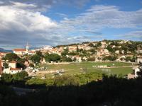 Aussicht über das Dorf, 1. OG
