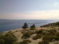 Insel Brac, Vidova gora 778 m, Blick auf Insel Hvar