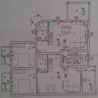 Grundriss mit Zusatzbett eingezeichnet
