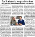 Das Schlimmste, was passieren kann (Bad. Zeitung v. 31.10.2009).jpg