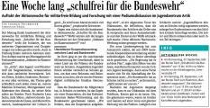 Eine Woche lang 'schulfrei für die Bundeswehr' (Bad. Zeitung v. 26.09.2012).jpg