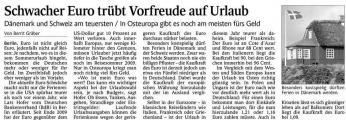 Schwacher Euro trübt Vorfreude auf Urlaub (Schw. Bote v. 28.05.2010).jpg