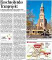 'Einschneidendes Tramprojekt' - Badische Zeitung v. 14.11.2008.JPG