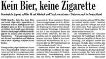Kein Bier, keine Zigarette (BZ v. 11.03.2009).jpg