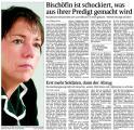 Bischöfin ist schockiert, was aus ihrer Rede gemacht wird (Schw. Bote v. 05.01.2010).jpg