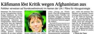 Käßmann löst Kritik wegen Afghanistan aus (Schw. Bote v. 04.01.2010).jpg