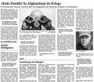 Kein Zweifel - In Afghanistan ist Krieg (Schw. Bote v. 21.09.2009).jpg