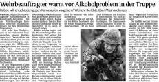 Wehrbeauftragter warnt vor Alkoholproblem in der Truppe (Schw. Bote v. 15.02.2010).jpg
