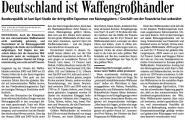 Deutschland ist Waffengroßhändler (Bad. Zeitung v. 15.03.2010).jpg