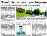 Krankenhaus Rottweil - Neun Unternehmen haben Interesse (Schw. Bote v. 31.12.2009).jpg