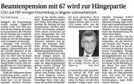 Beamtenpension mit 67 wird zur Hängepartie (Schw. Bote v. 23.07.2009).jpg