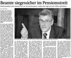 Beamte siegessicher im Pensionsstreit (Schw. Bote v. 16.07.2009).jpg