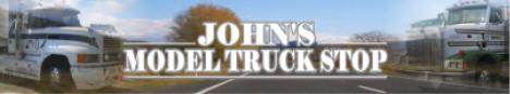 John's Model Truck Stop