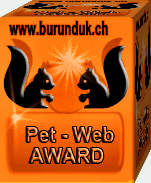 Pet- Web Award