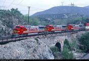 3617_1109492760 -Cajon Pass , Blue Cut, Cal. USA -800,  802,804 erste Fahrt nach Los Angeles am 17.4.1992.jpg