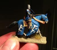 Swedish knight mounted