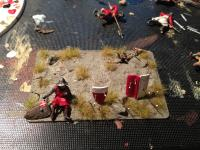 Medieval diorama in progreess