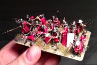 Medieval wargaming infantry