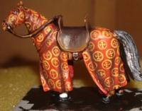 medieval cavalry horse