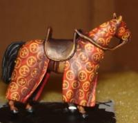 medieval model horse