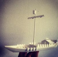 medieval ship model