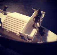 Riverboat model