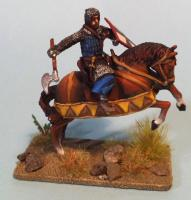 teutonic knight on horse