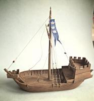Model medieval kogge