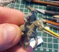 Medieval mounted Russian 1